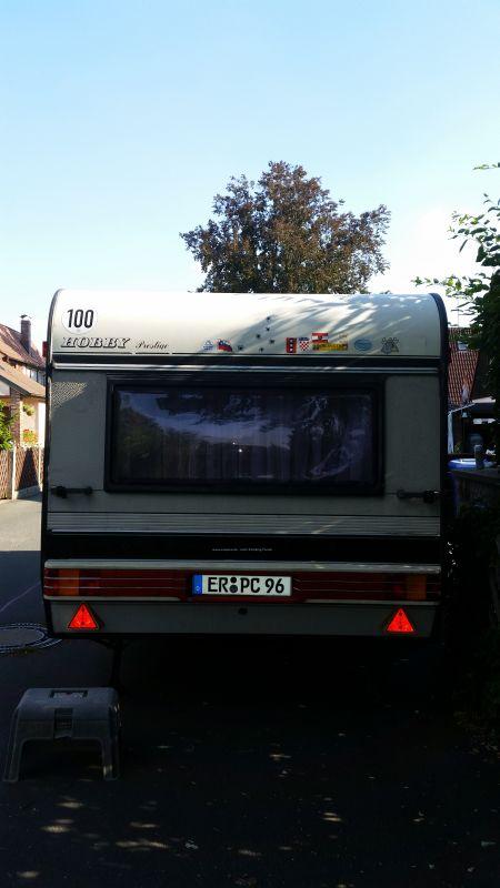 Neue 100er Zulassung Fuer Wohnwagen Hobby Prestige Giga